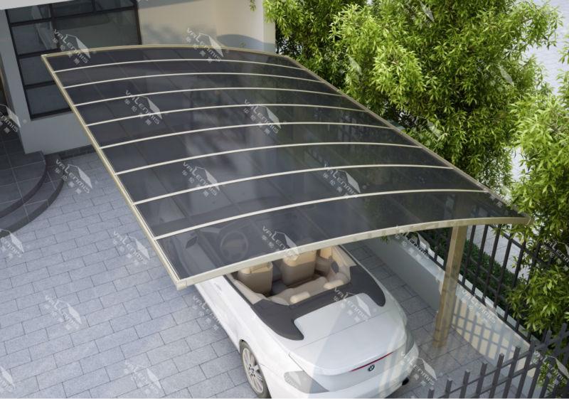 Fuerte y duradero de aluminio de estacionamiento del coche - Garajes para coches ...
