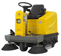 battery charged road sweeper