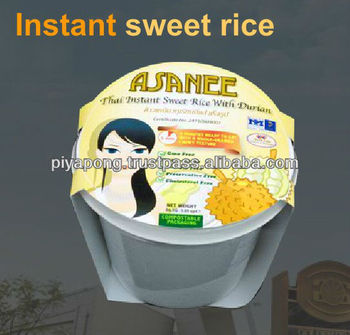 Asanee Brand Thai Favorite Sweet Instant Rice