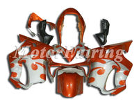 fairing kit cbr f4i for honda cbr 600 f4i motorcycle 2004 2005 2006 2007 cbr600 04-07 cbr600f4i cbr f4i bodykit orange silver