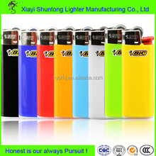 Factory plastic disposable cigarette wholesale bic lighters original
