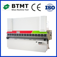New design WC67Y Series cnc controller hydraulic press brake with good quality