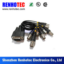 Db15 To 8 Bnc Cable Vga To Bnc Cable Bnc Audio Jack Cable