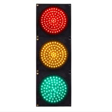 200mm 300mm Red Yellow Green round ball LED traffic light signal