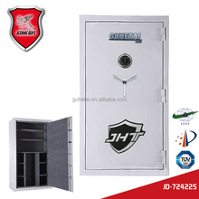 High burglarproof special bevel Bolt design black gun safe with electronic lock for bank