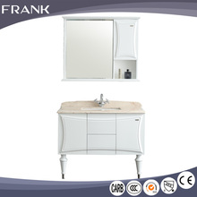 Wholesale 2016 hot sale european classic wooden mirror solid wood bathroom vanity cabinets