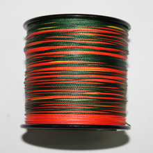 Top quality and grade spectra colorful 8 strand braided fishing line
