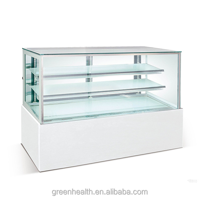 Green&Health Bakery Refrigerator Cake Display Showcase Used Commercial Refrigerators and Freezers Refrigeration Equipment Price