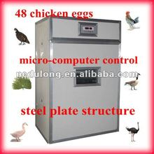 the newest 48 chicken eggs automatic poultry incubator emu hatching