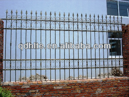Galvanization, powder coating wrought iron fence manufacturer