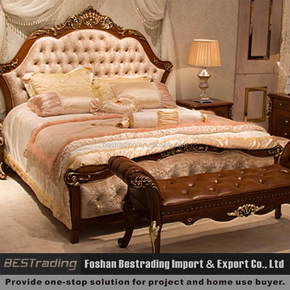 Double bed designs ,Classic series bed,Eruopean style bed