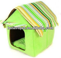 Super soft fabric pet house,dog kennel