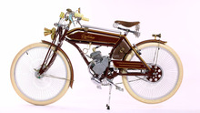 DOMLIN Vintage 2 stroke engine motor petrol bike gasline chopper bike