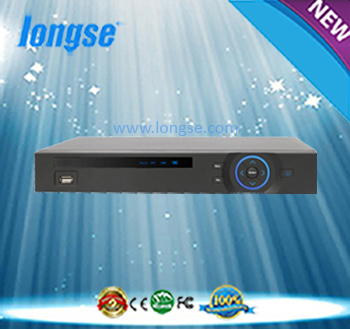 LONGSE HD 4CH CVI DVR work with CVI camera Static, Dynamic IP and DDNS , P2P, Support IE and special client software LS-CVR5104D