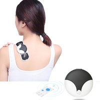 Wireless Intelligent Bluetooth muscle mini therapy massager 6 models for neck back full body Magnetic Pulse massage