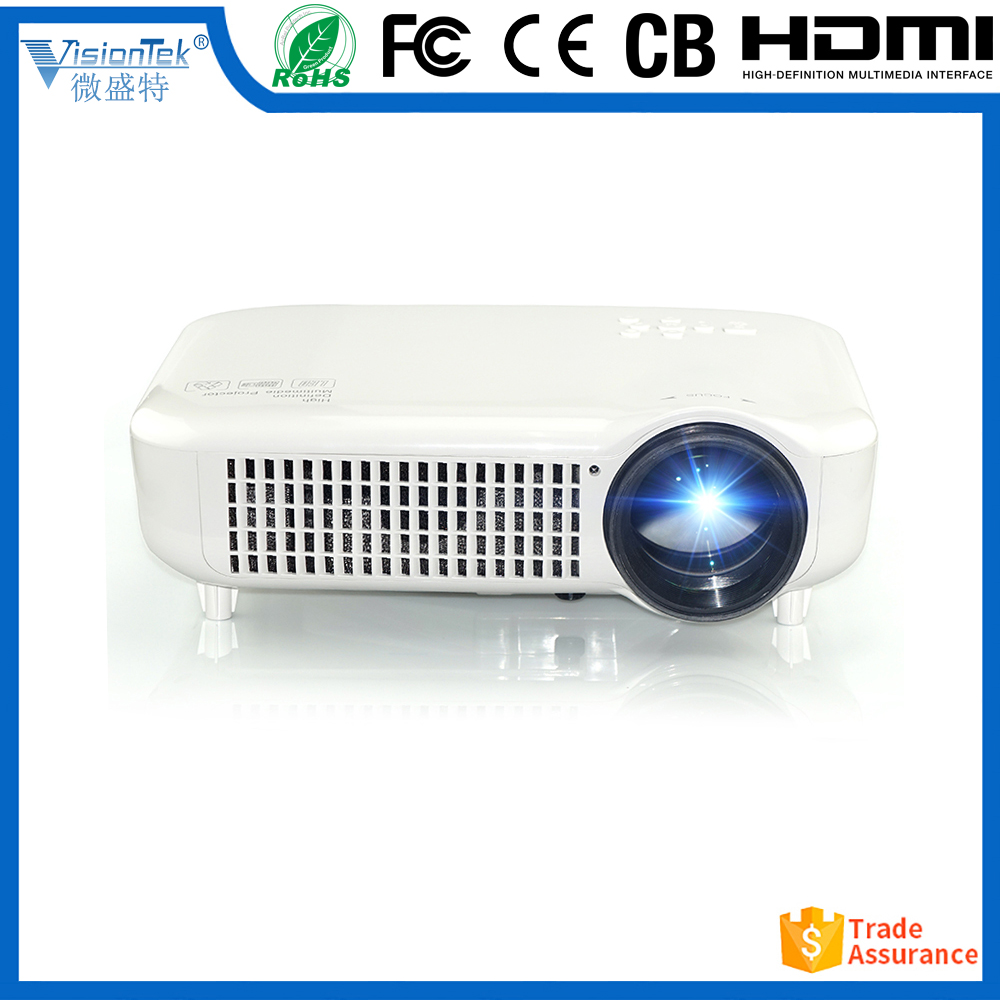 1280x800 3500lumens LCD Video cinema Multimedia 1080P HD LED Projector with HDMI USB AV TV beamer