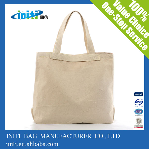 New Arrival Top Quality 100 Cotton Canvas Tote Bags For Promotion