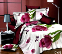 3d polyester stock for sale bedding set for teenagers/patchwork quilt/bed linen 3d