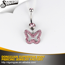 Most popular belly button/navel ring body piercing jewelry , navel ring , body piercing jewelry