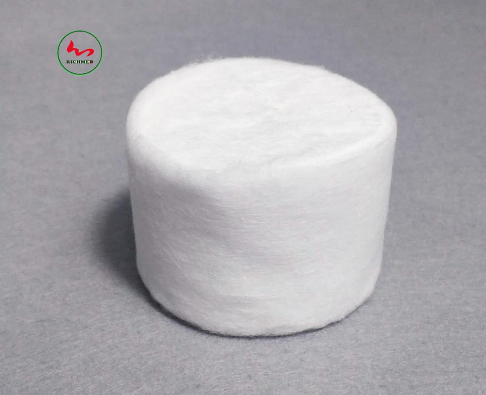 High Quality Medical Absorbent Cotton Wool Roll