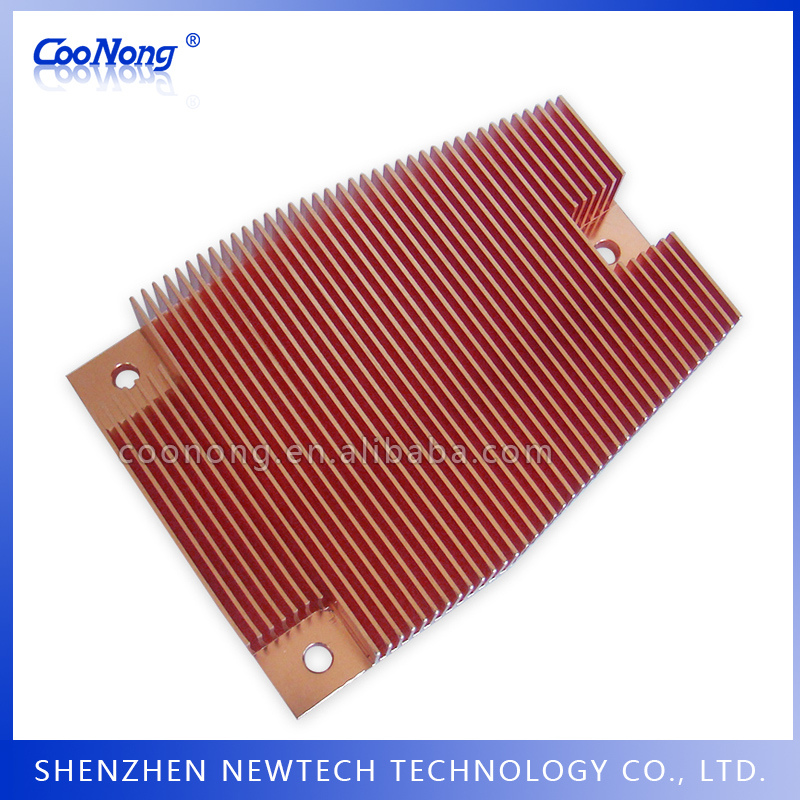 Denmark alibaba OEM copper cutting heat sink led/100mm heat sink trade
