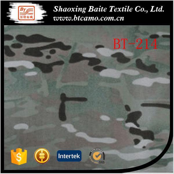 twill woodlan multicam fabric