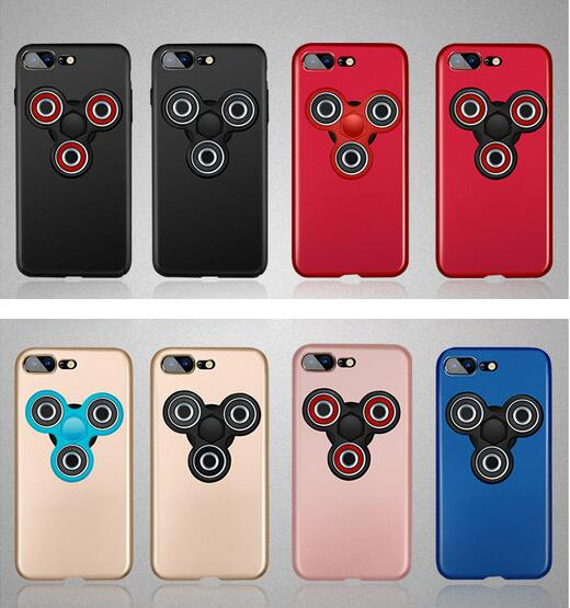 Gyro Spinner Case,Finger Gyro Cover Case For Iphone 7 7 Plus