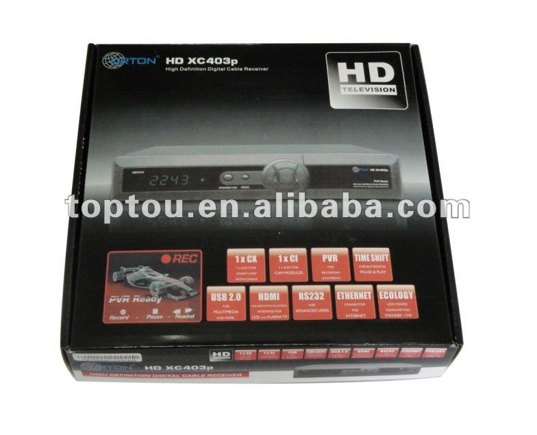 HD Digital TV Satellite Receiver Orton X403P