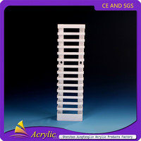 China Supplier Wholesale Small Plastic Horizontal Tabletop CD Rack