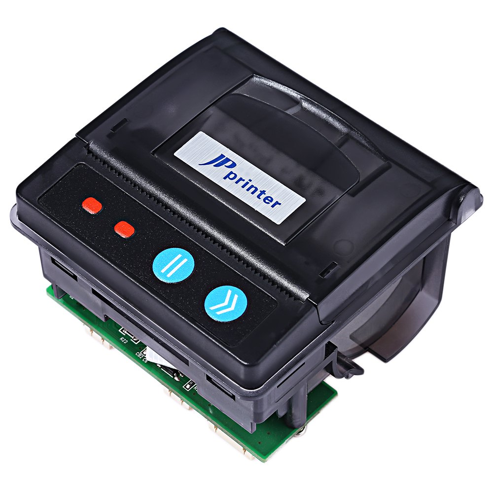 JP QR203 58mm Mini Embedded Receipt Thermal <strong>Printer</strong> RS232 / TTL + USB Panel Compatible with EML203 for Medical Instruments