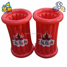 OEM design printing logo wind cooler inflatable outdoor ice bucket table