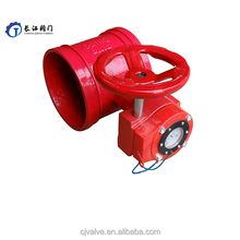 China wholesale butterfly valve gear operator- full flange type price butterfly valve seat ring