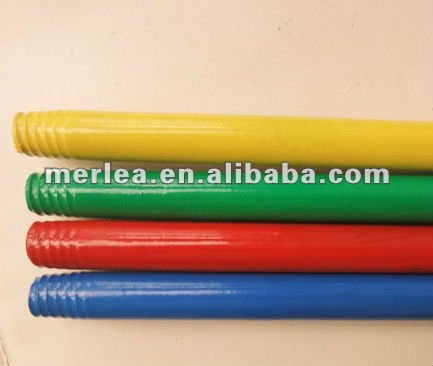 PVC coated wooden broom handle HOT SALE floor mop stick ,,metal broom handles with COMPETITIVE PRICE