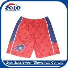 Cheap Custom Dye Sublimated Cool Dry Men's Basketball Uniform Shorts