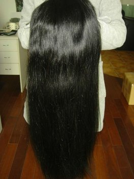 high quality factory price 100% virgin remy straight mongolian hair bundles