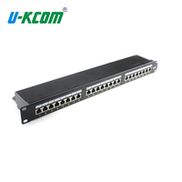 Made in china 19 inches 16 Port cat5e utp patch panel