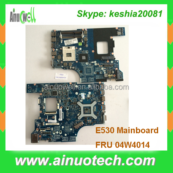 "Original new Laptop mainboard for Lenovo Edge 15.6"" E530 Intel System Motherboard FRU: 04W4014 system board"