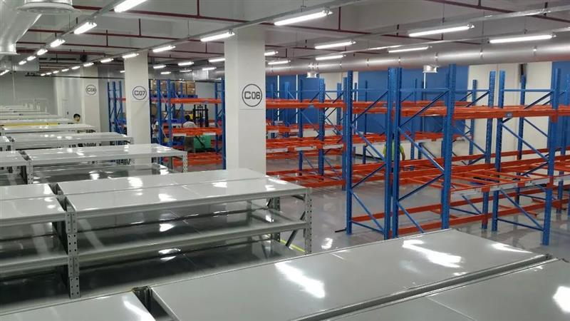 Logistic electronic equipment wire mesh decking pallet rack