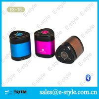 New portable wireless bluetooth speaker with subwoofer speaker for outdoor and indoor use