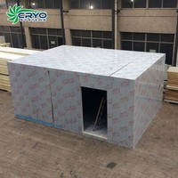 building designing price supermarket cool food meat pu modular chiller cold storage room for potato