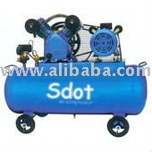 CE 2HP Belt type air compressor V-0.17