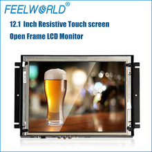 FEELWORLD HD Touch screen car 12 inch headrest monitors with hdmi input