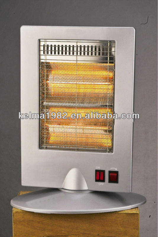 With oscillation Quartz heater