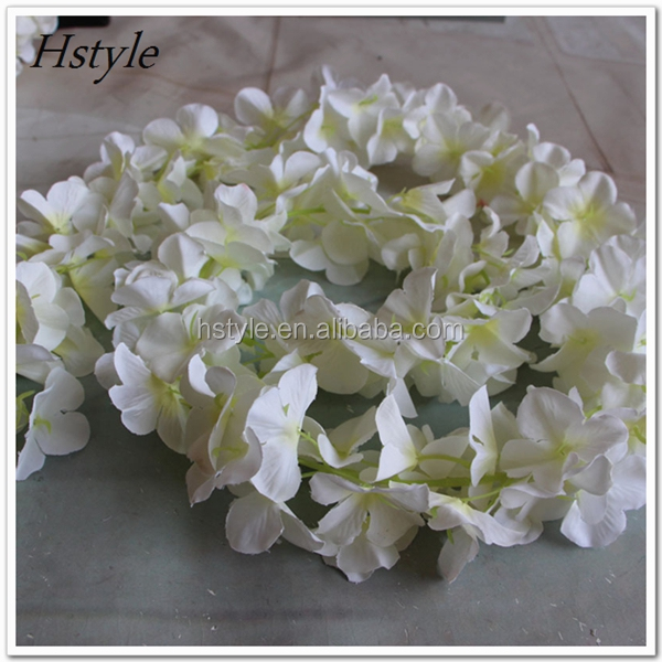 New Arrival Indian Artificial Rose Hydrangea Orchid Wedding Flower Garlands For Sale FZH144