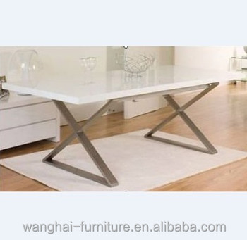 Modern dining table wooden furniture from China