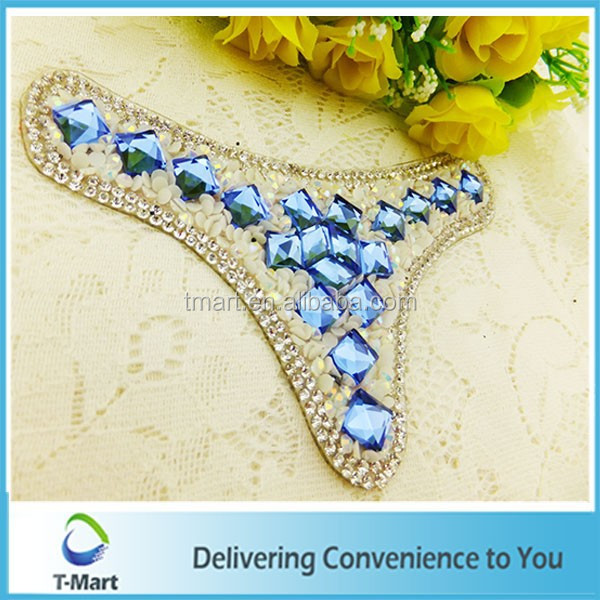 Rhinestone upper shoes for women hotfix shoes upper from TMart