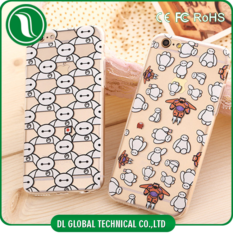 2015 New Design TPU Cartoon Phone Case For iPhone 6 Plus
