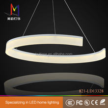 2014 hotsale C ring LED pendant lamp for hotel and home decoration