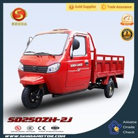 China 250CC Van Cargo Tricycle Water Cooled Engine Trike SD250ZH-2J