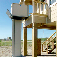 easy operation electric hydraulic wheelchair lift for handicapped